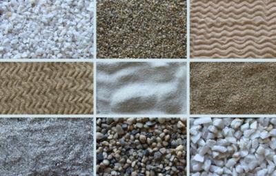 Виды кварцевого песка