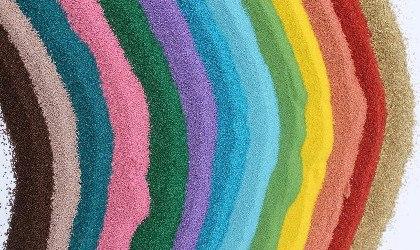 cp4 - Цветной кварцевый песок для творчества