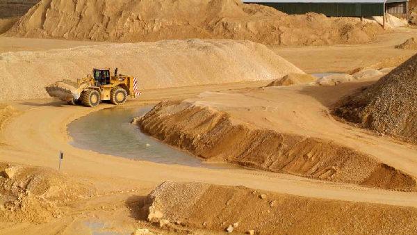 Карьерный кварцевый песок