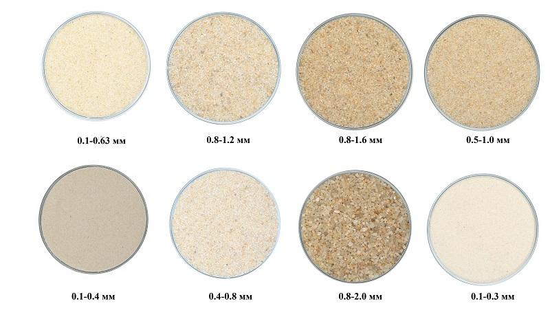 Использование кварцевого песка в системах очистки воды